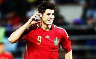 España gana 1-0 a Ucrania con gol de Morata