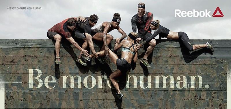 Reebok 'Be More Human' nos reta a ser mejores personas a través del deporte