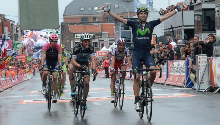 Valverde ha ganado su tercera Lieja - Bastoña - Lieja