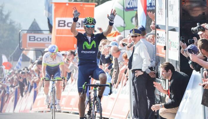 Valverde repitió victoria en la Flecha Valona
