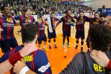 El FC Barcelona gana la Liga ASOBAL 2014-2015
