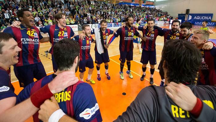 El Barça gana la liga ASOBAL por quinto año consecutivo