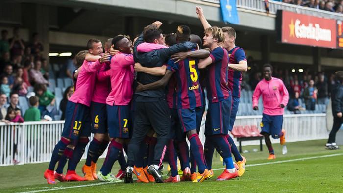El Barcelona B lucha por la permanencia en Segunda División