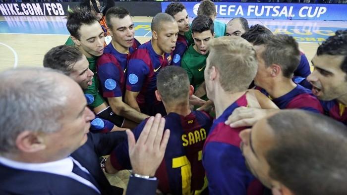 El FC Barcelona buscará su tercera UEFA Futsal Cup este fin de semana