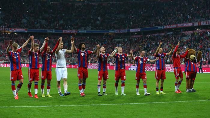 El Bayern Munich ya tiene 25 ligas de Alemania