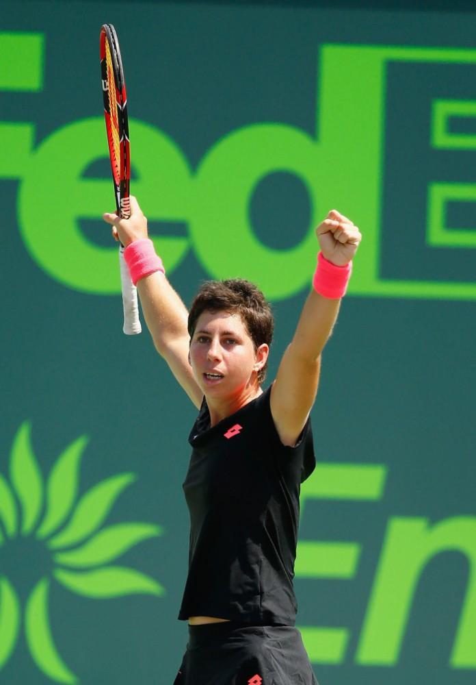Masters de Miami 2015: Carla Suárez Navarro a la final, John Isner semifinalista
