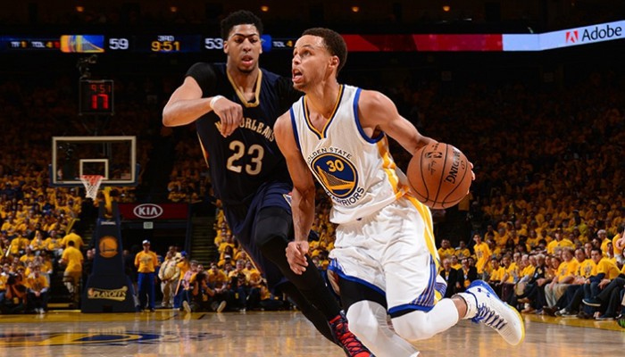 Playoffs NBA 2015: los Warriors eliminan a los Pelicans por la vía rápida