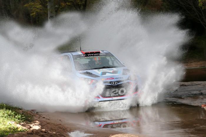 Dani Sordo en el Rally de Argentina