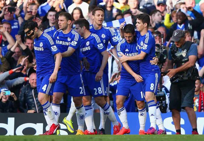 El Chelsea gano al Manchester United