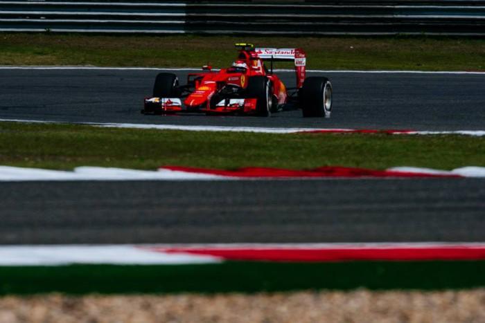 Ferrari en el GP de China