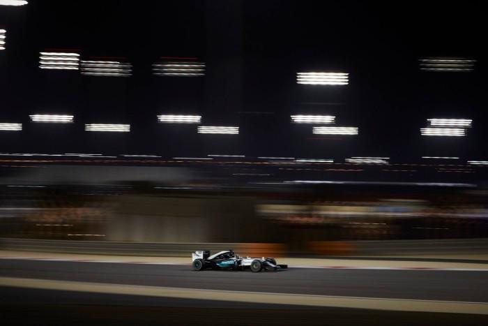 Mercedes en Bahrein