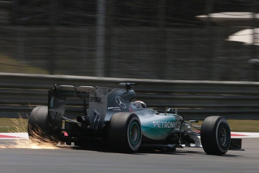 Mercedes en el GP de China