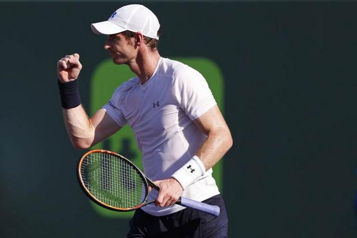 Murray a semifinales en Miami