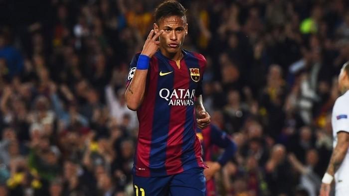 Neymar hizo doblete ante el PSG