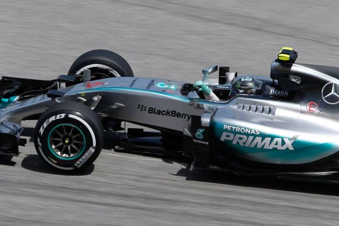 Nico Rosberg con Mercedes
