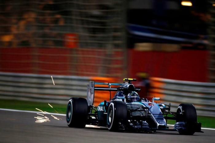 Nico Rosberg en Bahrein