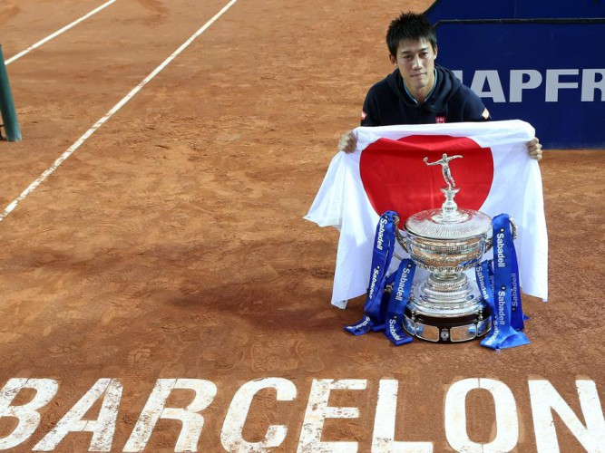 Nishikori bicampeón en Barceloa