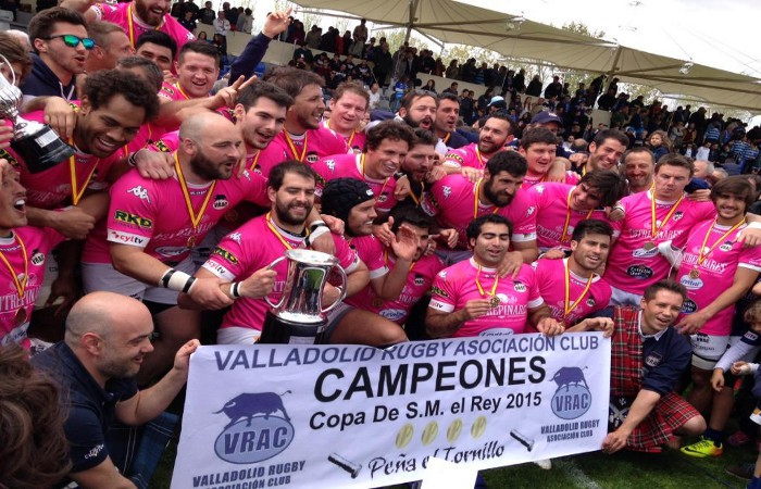 Quesos Entrepinares gana su cuarta Copa del Rey de rugby