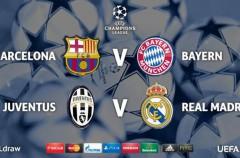 Champions League 2014-2015: Barça – Bayern y Juve – Madrid en semifinales