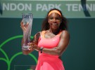 Masters de Miami 2015: Serena Williams gana a Carla Suárez y logra su octavo título