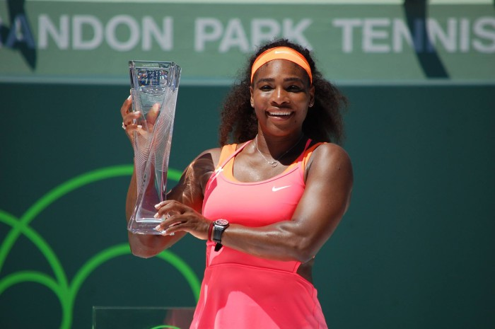 Serena Williams gano en Miami