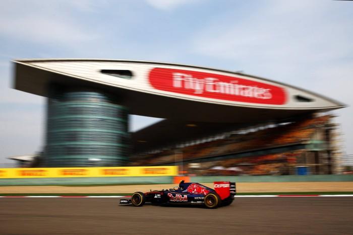 Toro Rosso en el GP de China