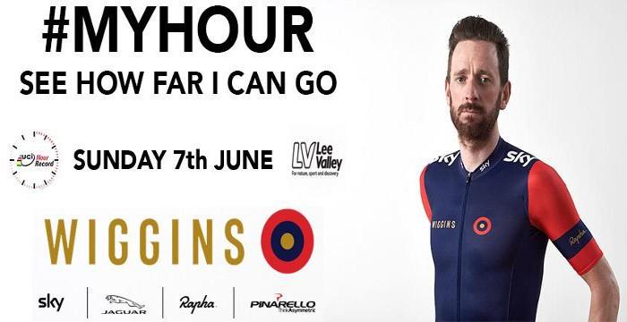 Wiggins anunciando la fecha en la que intentará batir el récord de la hora