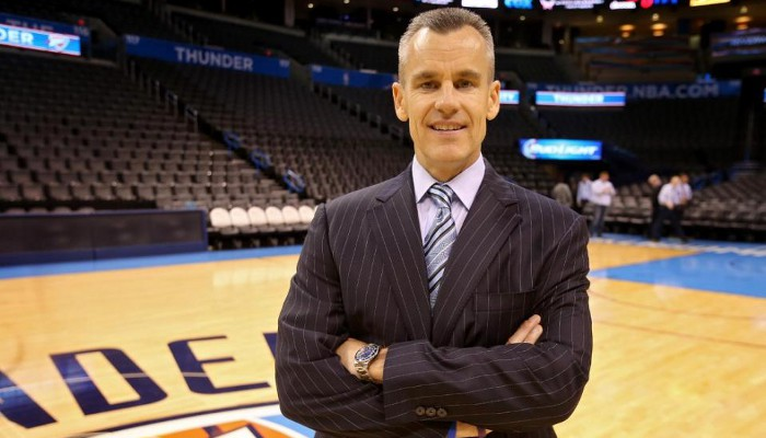 Billy Donovan es el nuevo técnico de los Thunders