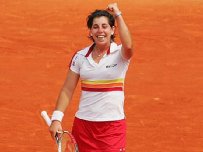 Carla Suarez a semifinales en Roma