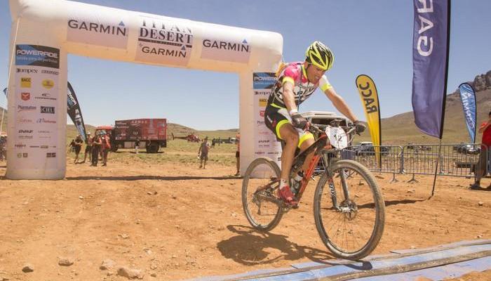 El colombiano Diego Tamayo gana la Titan Desert de 2015