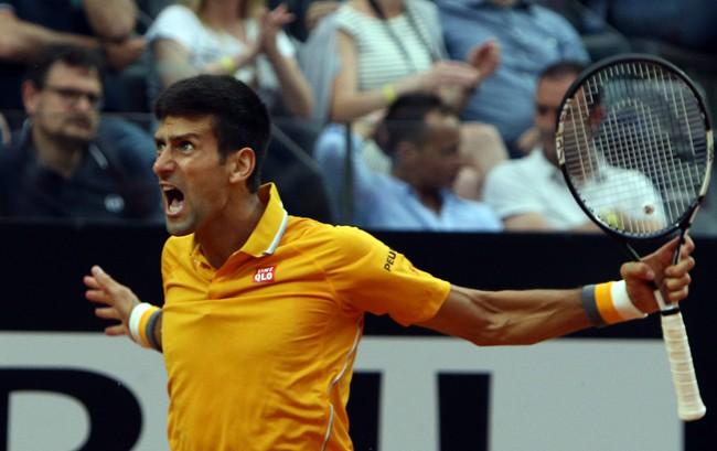 Djokovic a semifinales en Roma
