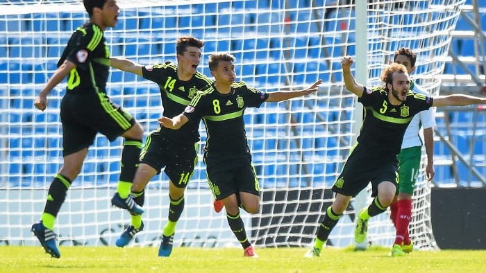 España sub 17 pasa a los cuartos de final del Europeo 2015