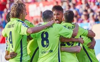 Liga Española 2014-2015 1ª División: el Barcelona celebra el campeonato en la Jornada 37