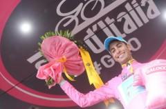 Giro de Italia 2015: Fabio Aru es el líder tras la decimotercera etapa