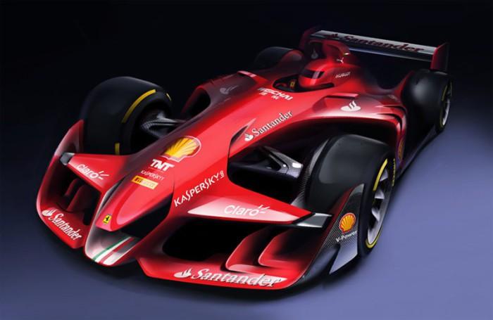 Ferrari F1 Concept Car 2