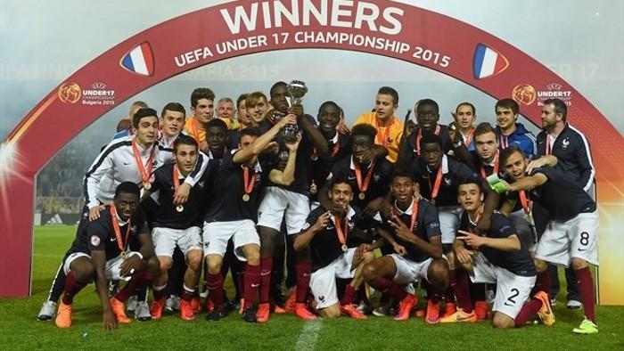 La selección de Francia ganó el Europeo sub 17 de 2015