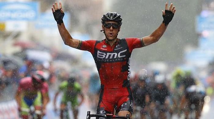 Gilbert logró su primera victoria de 2015 en una etapa del Giro