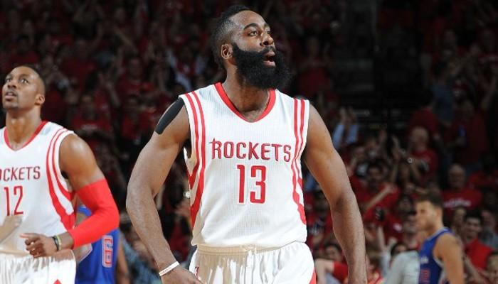 Harden fue el mejor de los Rockets en su victoria sobre los Clippers