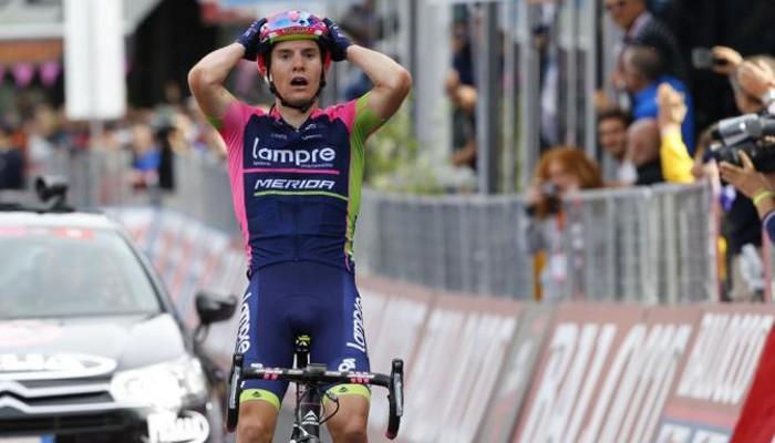 Giro de Italia 2015: Polanc gana la etapa y Contador se viste de rosa