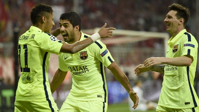 El tridente del Barcelona lo mete en la final de Champions League