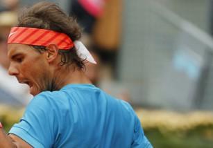 Masters de Madrid 2015: Rafa Nadal avanza, Federer eliminado