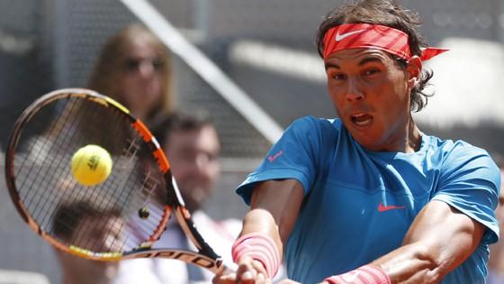 Nadal a semifinales en Madrid