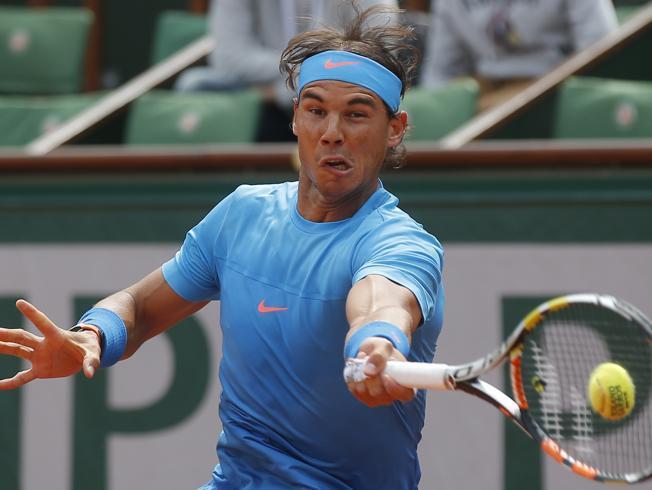 Nadal gana en primera ronda de Roland Garros