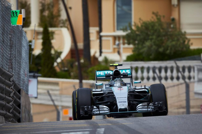 Nico Rosberg en Monaco