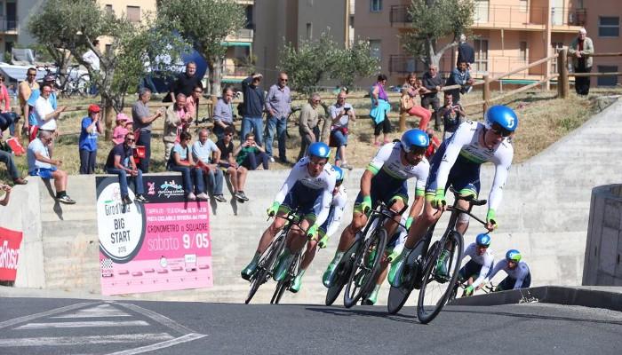 El equipo Orica GreenEDGe ganó la primera etapa del Giro de Italia 2015