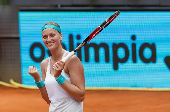 Petra Kvitova gana en Madrid