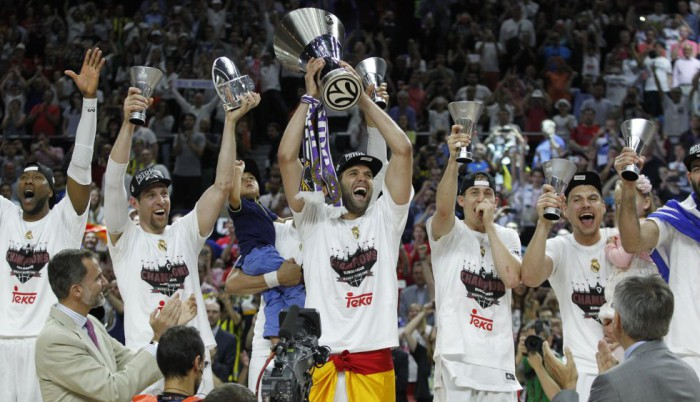 Real Madrid campeon de la Final Four