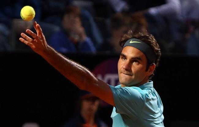 Roger Federer se mete en la final de Roma