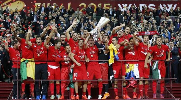 El Sevilla FC con su cuarta Europa League