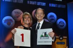 NBA: Minnesota Timberwolves elegirá al número uno del draft de 2015